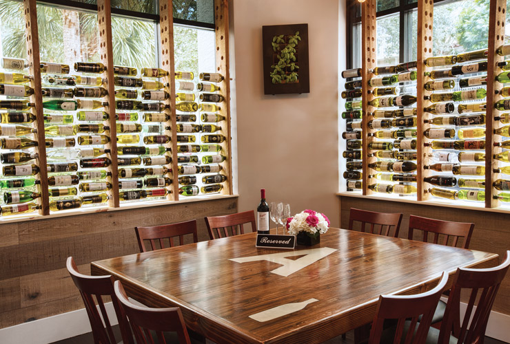 Wine Bar In Downtown Abacoa, Dining Room Wine Bar