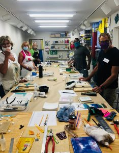 Glass Fusion Class with Carolyn Austin