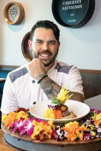 Chef Taylor Wilson, The Gafford, Florida Botanical Beef Tenderloin, Photo by Jerry Rabinowitz