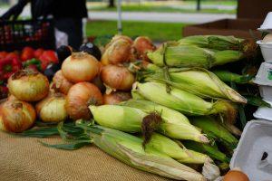 Produce at Gardens 2 Go market