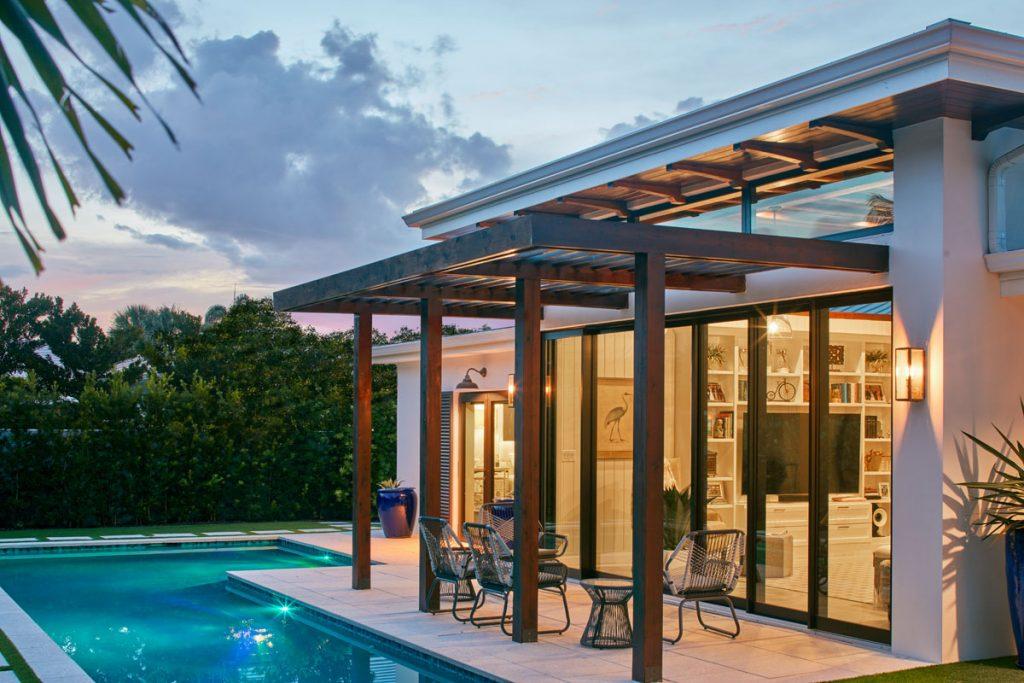 James Rill designed Jupiter contemporary cottage, Photo by Dana Hoff Photography_031