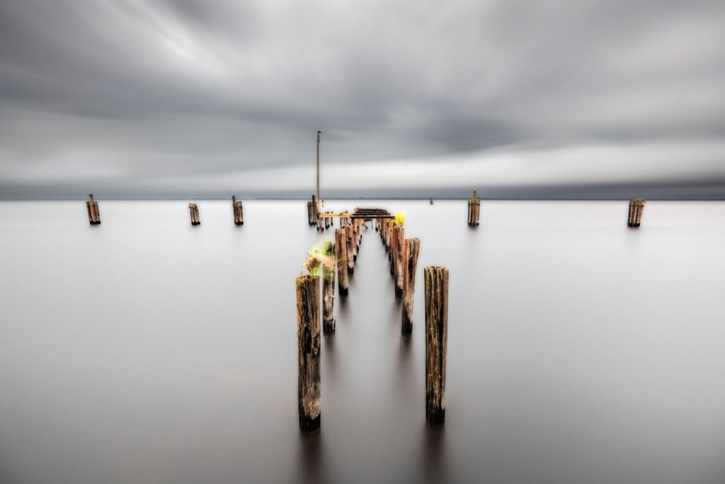 Pier into St. Johns, St. Augustine, Richard Auger
