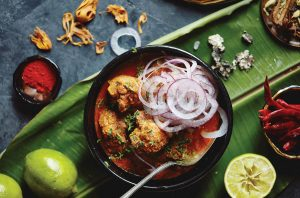 Chef Pushkar Marathe's Kolhapuri Chicken