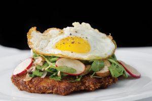 Kitchen Chicken Schnitzel, Photo by Libby Vision