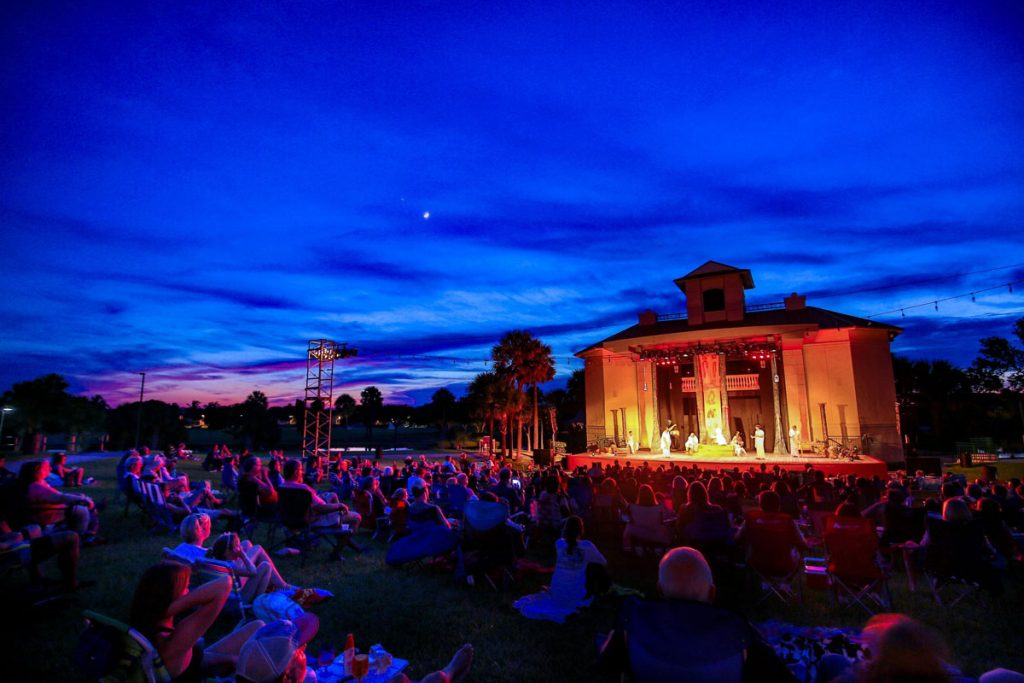 Shakespeare by the Sea, photo by Richard Graulich