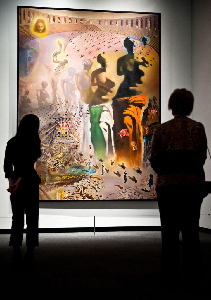 The Hallucinogenic Toreador (1969-70), Salvador Dali. ©Salvador Dalí. Fundación Gala-Salvador Dalí (Artist Rights Society), 2021 : Collection of the Salvador Dalí Museum, Inc., St. Petersburg, FL, 2021