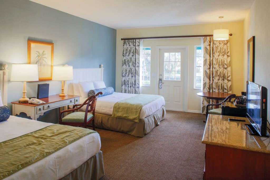 A suite at Plantation, photo courtesy of Plantation on Crystal River