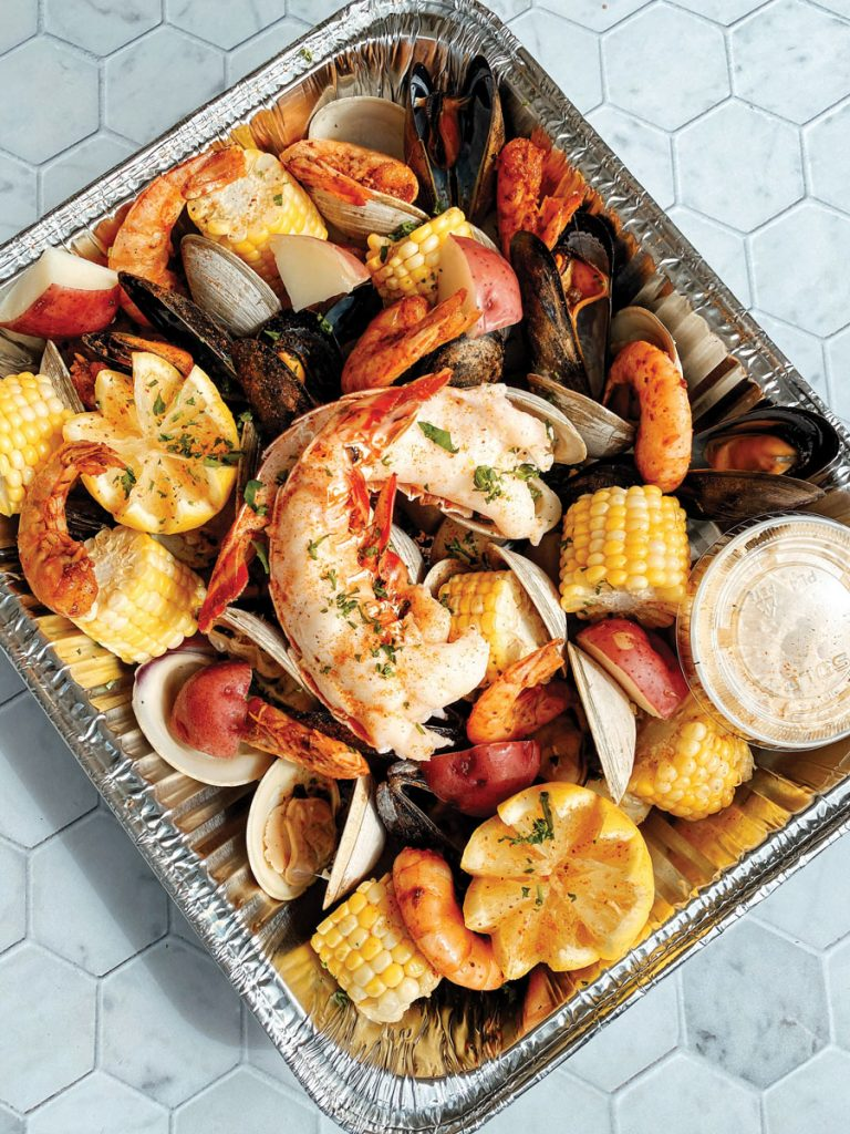 Cod & Capers offers ready-to-eat clambakes as well as packaged ingredients you can take home and cook yourself. Courtesy of Cod and Capers