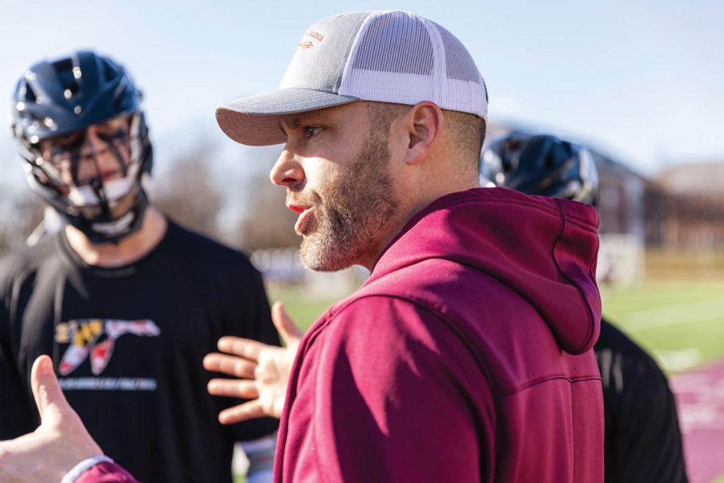 Jeff Shirk, The Pine School Track Coach