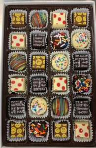 Assortment of special treats at The Chocolate Spectrum in Jupiter