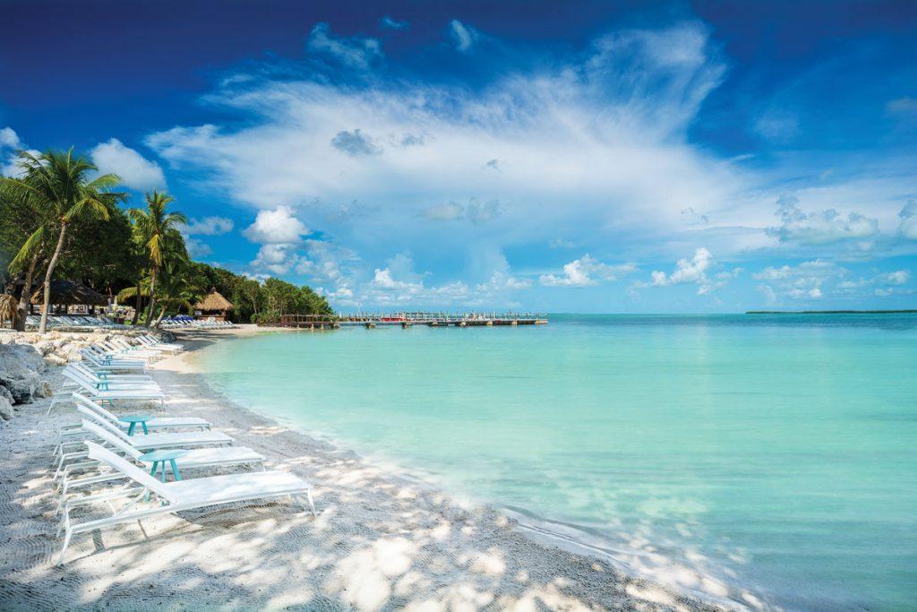 Baker's Cay Beach. Images courtesy of Baker's Cay Resort, Key Largo