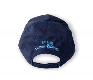 Coastal Kids Baseball Hat - Navy back