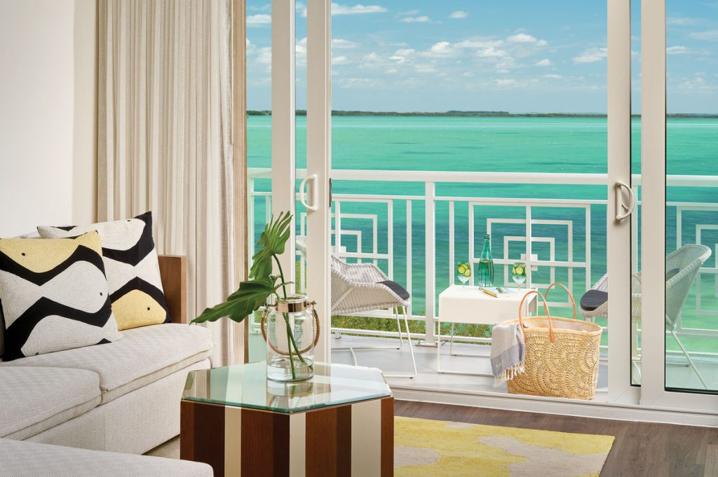 Enjoy stunning views from your suite.