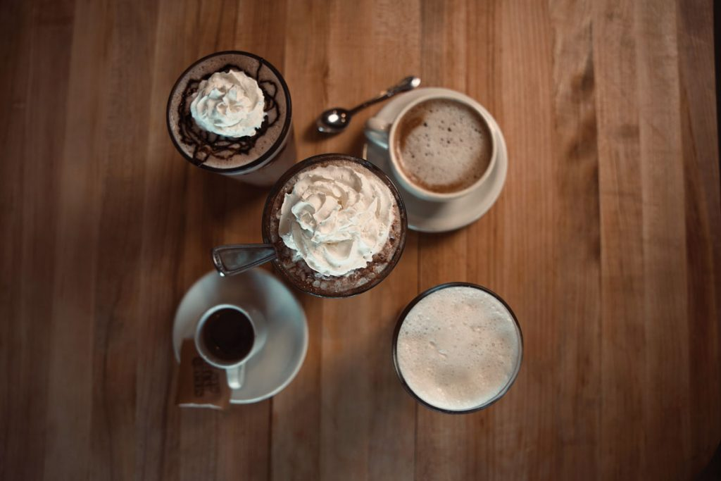 """Coffee and """"Sweet Treat"""" beverages at Plant Based Mafia"""