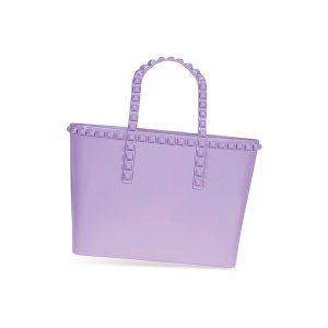 Grazie tote in violet ($165). Carmen Sol, The Gardens Mall