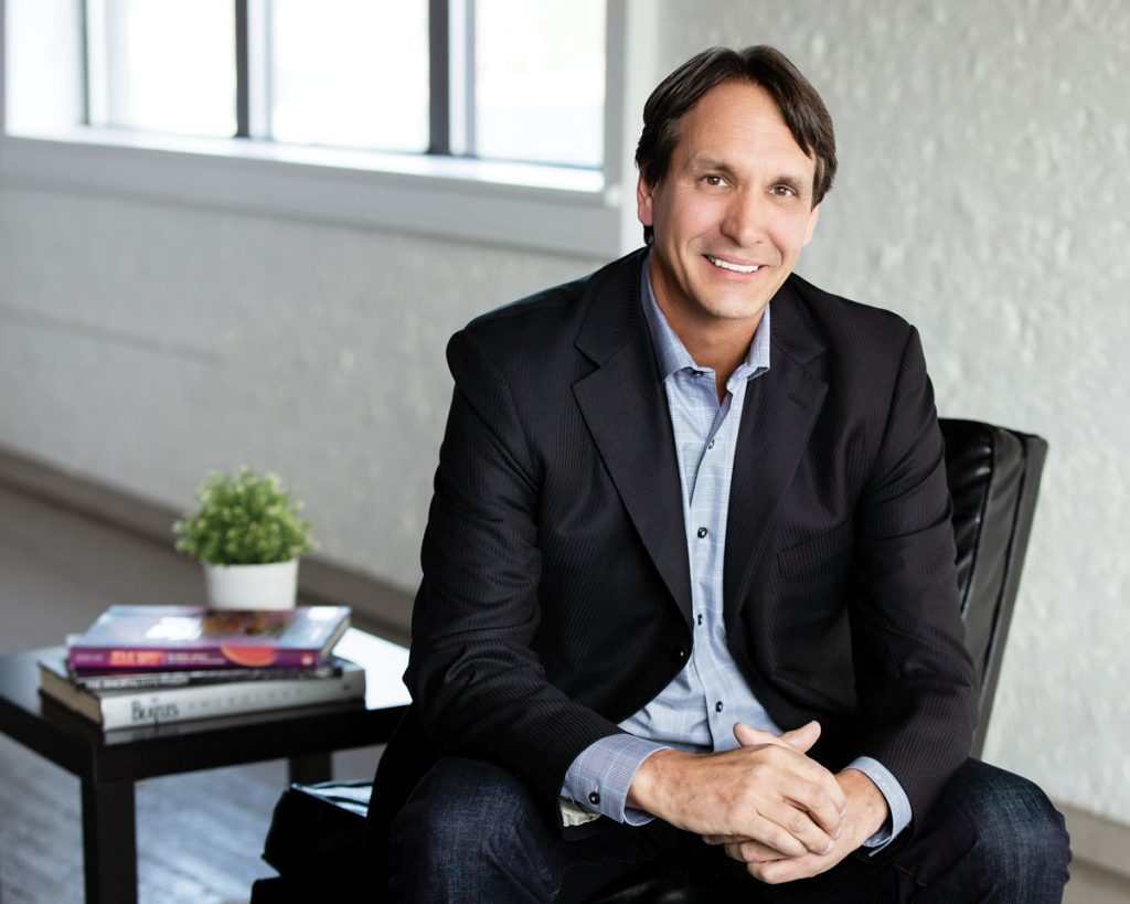 Mark Chaney, founder of WineCab, photo by Tomas Flint