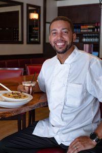 Chef Luis Mojica, Christopher's Kitchen, Palm Beach Gardens, photo by Jerry Rabinowitz