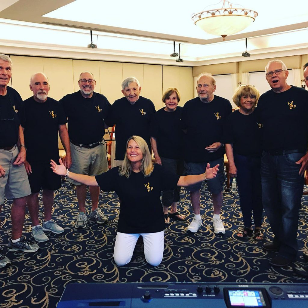 The Voices of Parkinson's Chorus will perform at the M3F open house on October 19. Photos courtesy of M3F